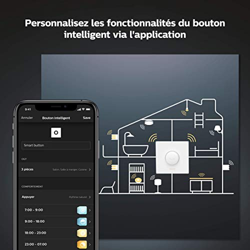 Philips Hue : bouton connecté 4