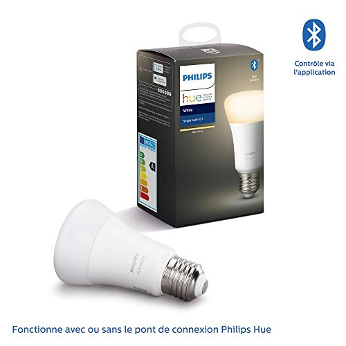 Philips Hue : Ampoule connectée LED E27 3